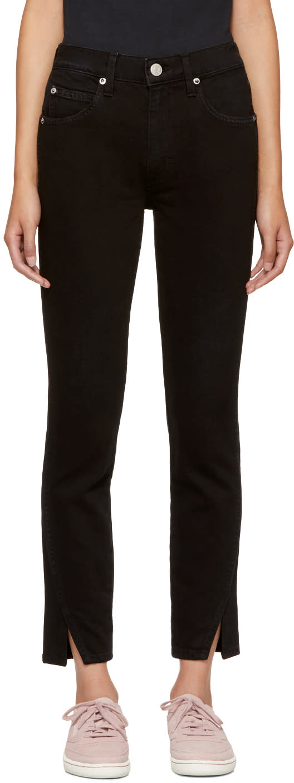 Image of Amo Black Twist Jeans