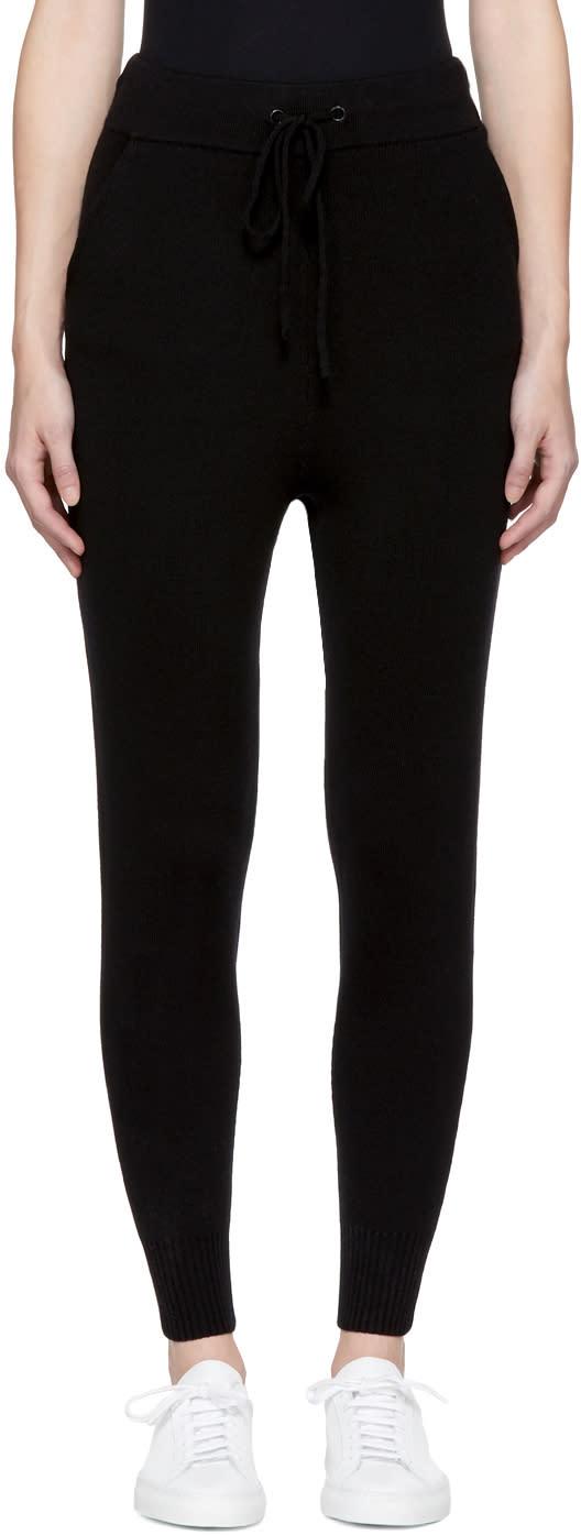 Image of Earnest Sewn Black Samantha Lounge Pants