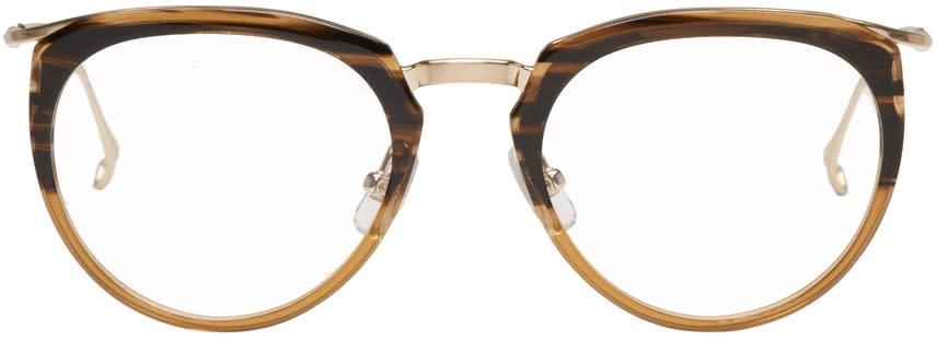 Issey Miyake Men Brown Boston 1 Glasses