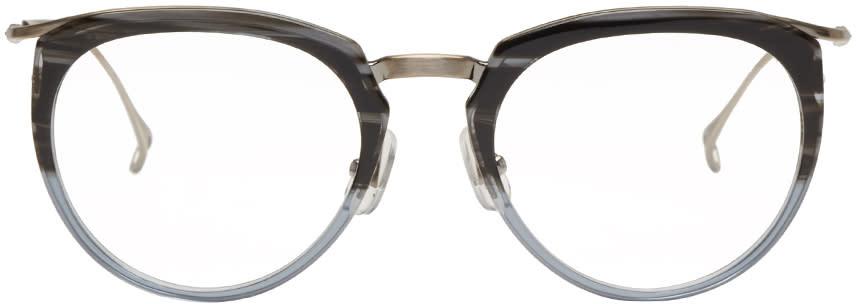 Issey Miyake Men Grey Boston 1 Glasses