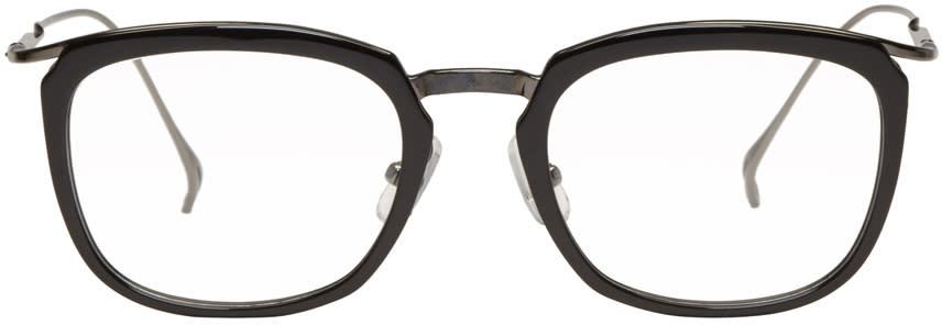 Issey Miyake Men Black Pentagon 1 Glasses