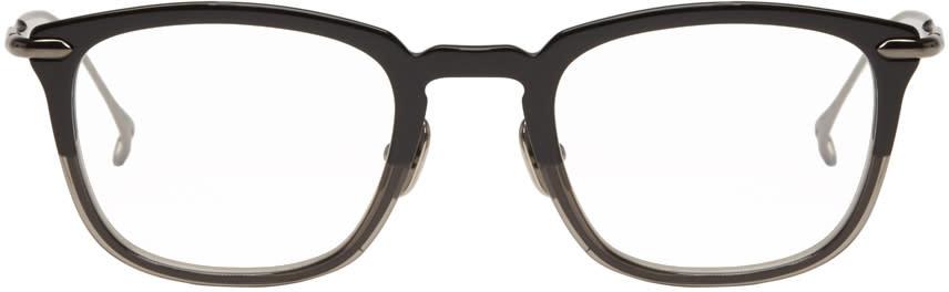 Issey Miyake Men Black Pentagon 2 Glasses