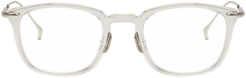 Issey Miyake Men Transparent Pentagon 2 Glasses