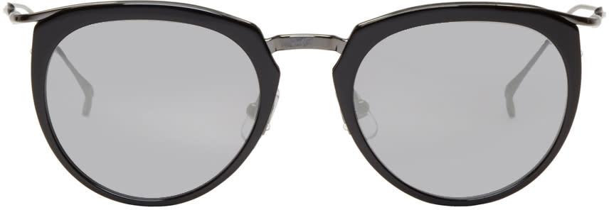 Issey Miyake Men Black Boston 1 Sunglasses