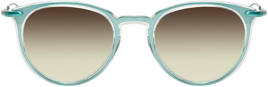 Issey Miyake Men Green Boston 2 Sunglasses