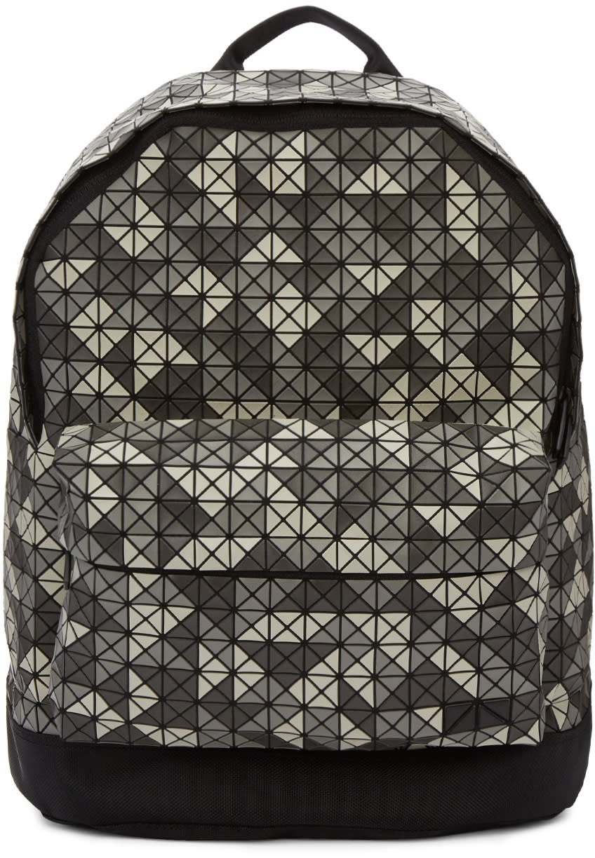 Image of Bao Bao Issey Miyake Grey Daypack Backpack