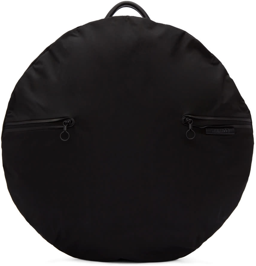 Image of Ys Black Côte and Ciel Edition Round Rucksack