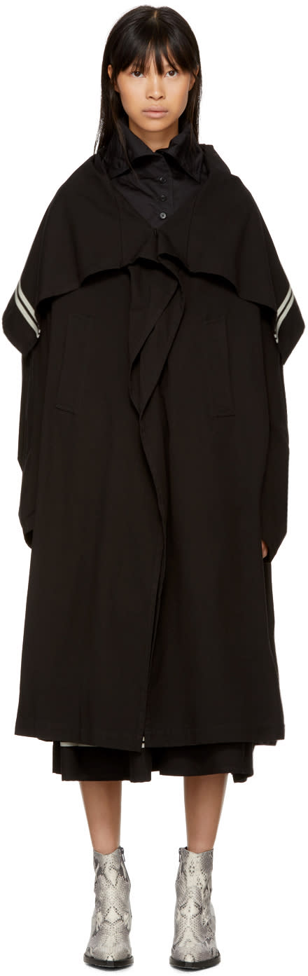 Image of Ys Black Cape Coat