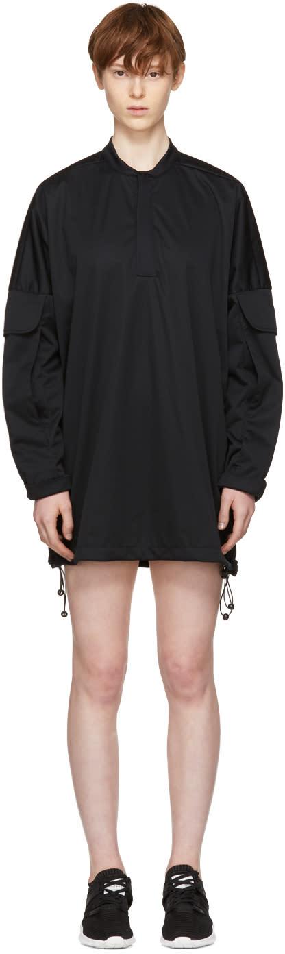 Image of Cottweiler Black Utility Windbreaker Dress