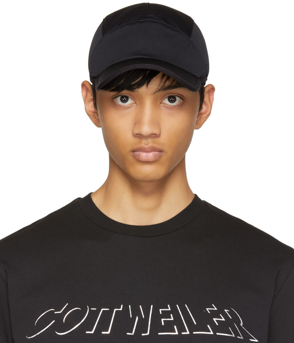 Image of Cottweiler Black Drawstring Cap