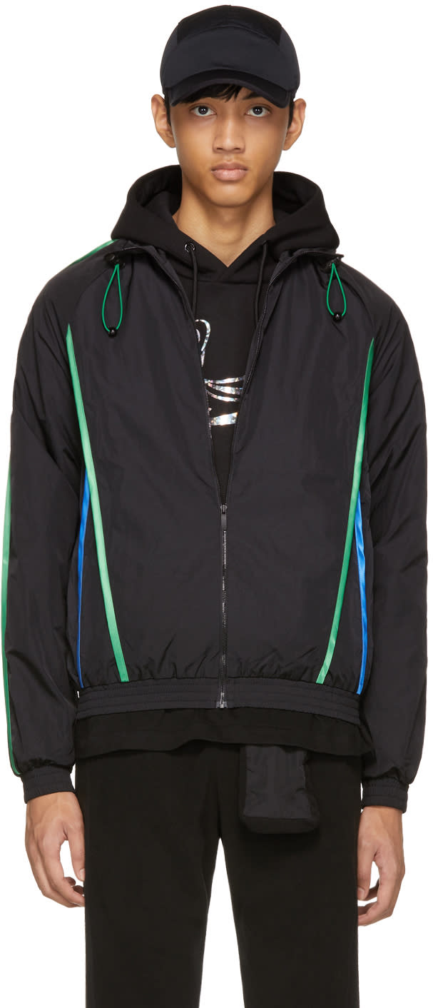 Image of Cottweiler Black Piping Track Jacket