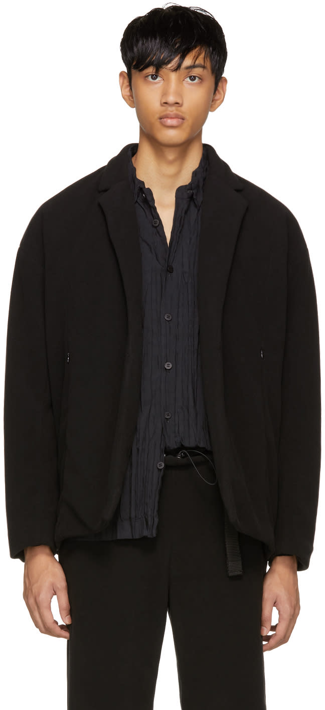 Image of Cottweiler Black Fleece Jacket
