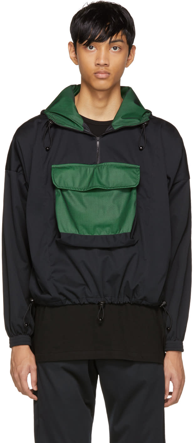 Image of Cottweiler Black Half-zip Pullover Jacket
