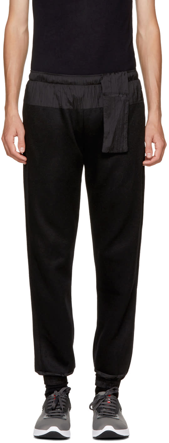 Image of Cottweiler Black Contrast Lounge Pants