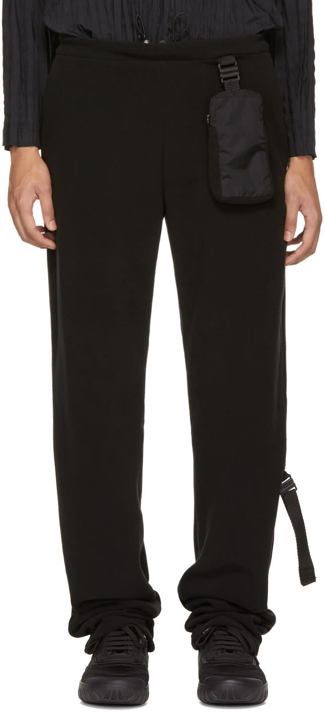 Image of Cottweiler Black Fleece Tailored Track Pants