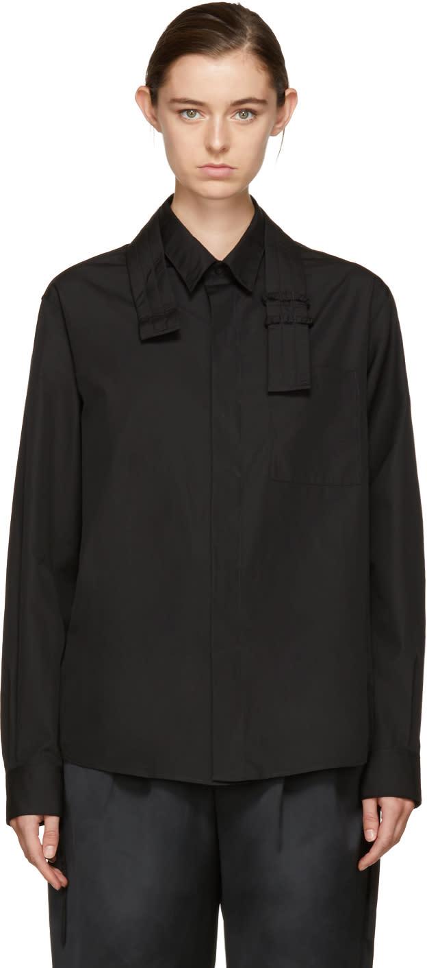 Image of Craig Green Black Core Strap Shirt