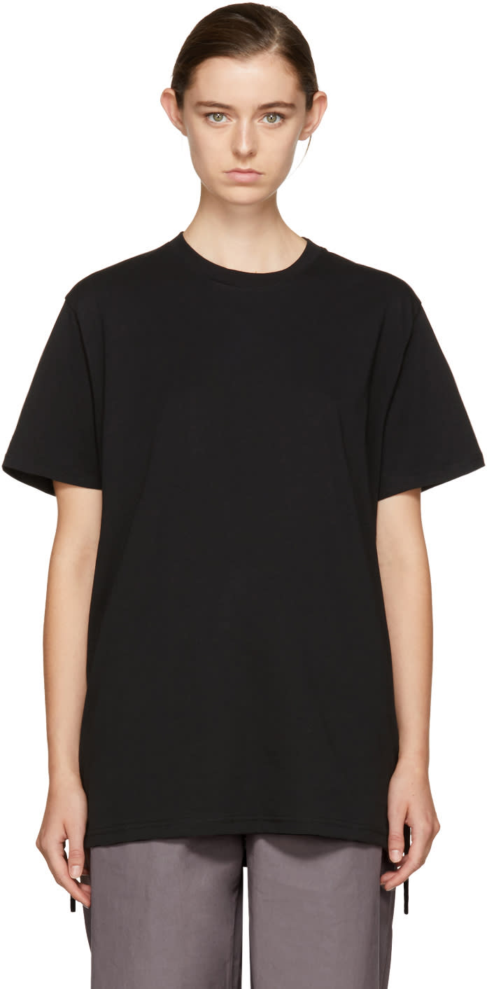 Image of Craig Green Black Crewneck T-shirt