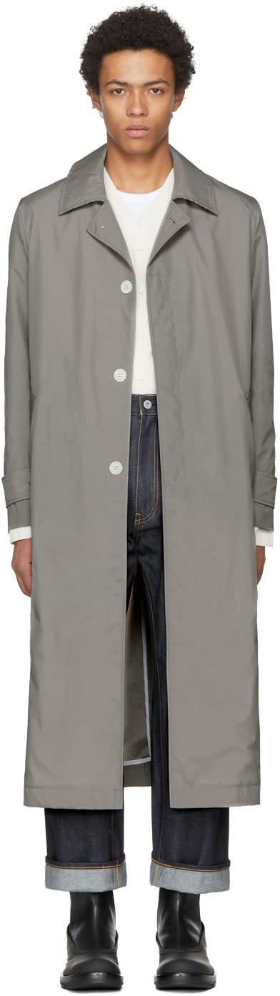 Image of Sunnei Grey Classic Coat