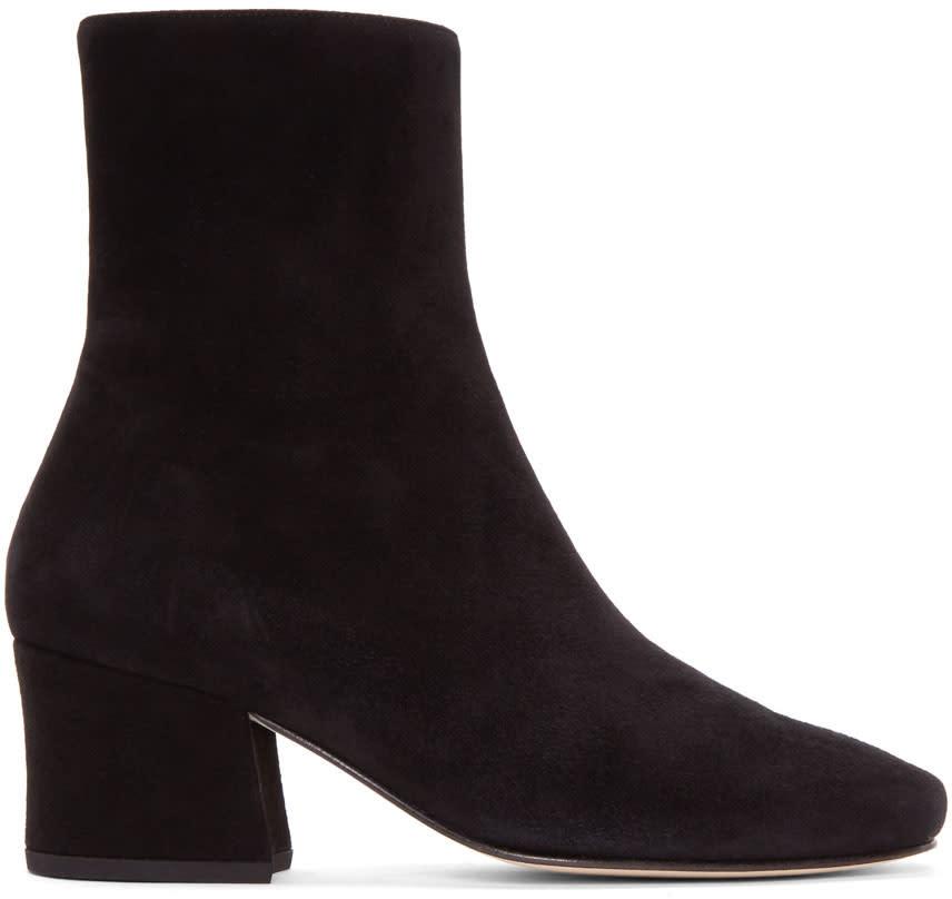 Dorateymur Black Suede Sybil Leek Boots