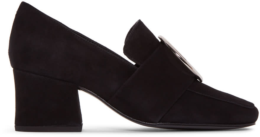 Dorateymur Black Suede New Turbojet Heels