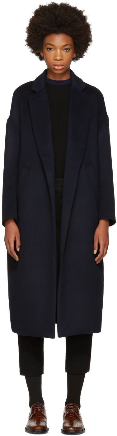 Image of Enfold Navy Chester Coat