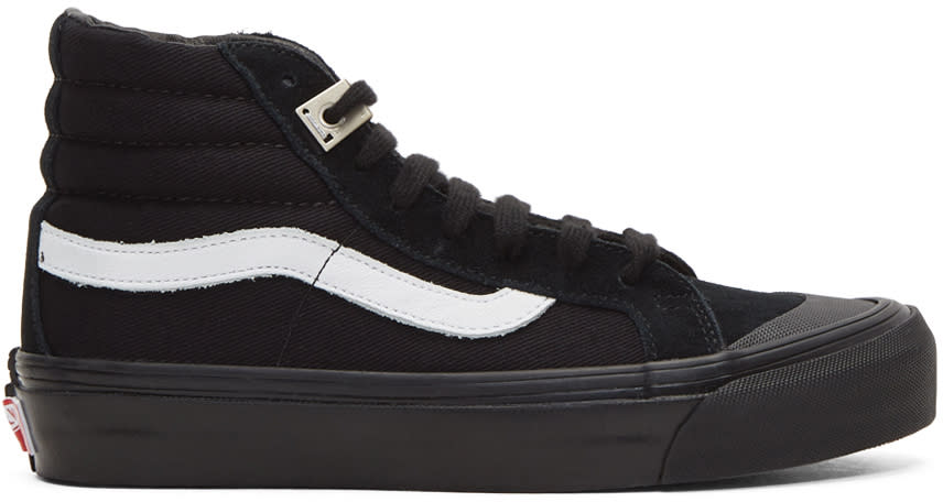 Image of Vans Black Alyx Edition Og Style 138 Lx High-top Sneakers
