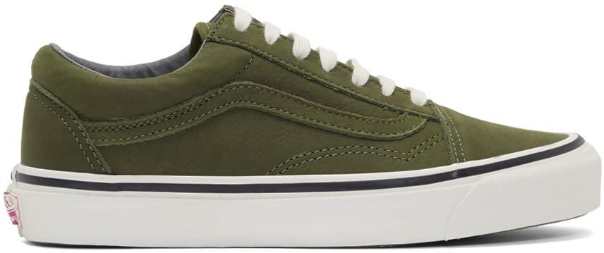 0e82b06ed6 Vans Green Nubuck Og Old Skool Lx Sneakers