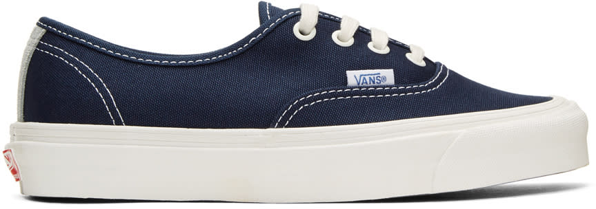 d4eedbc9f620 Vans Navy Og Authentic Lx Sneakers