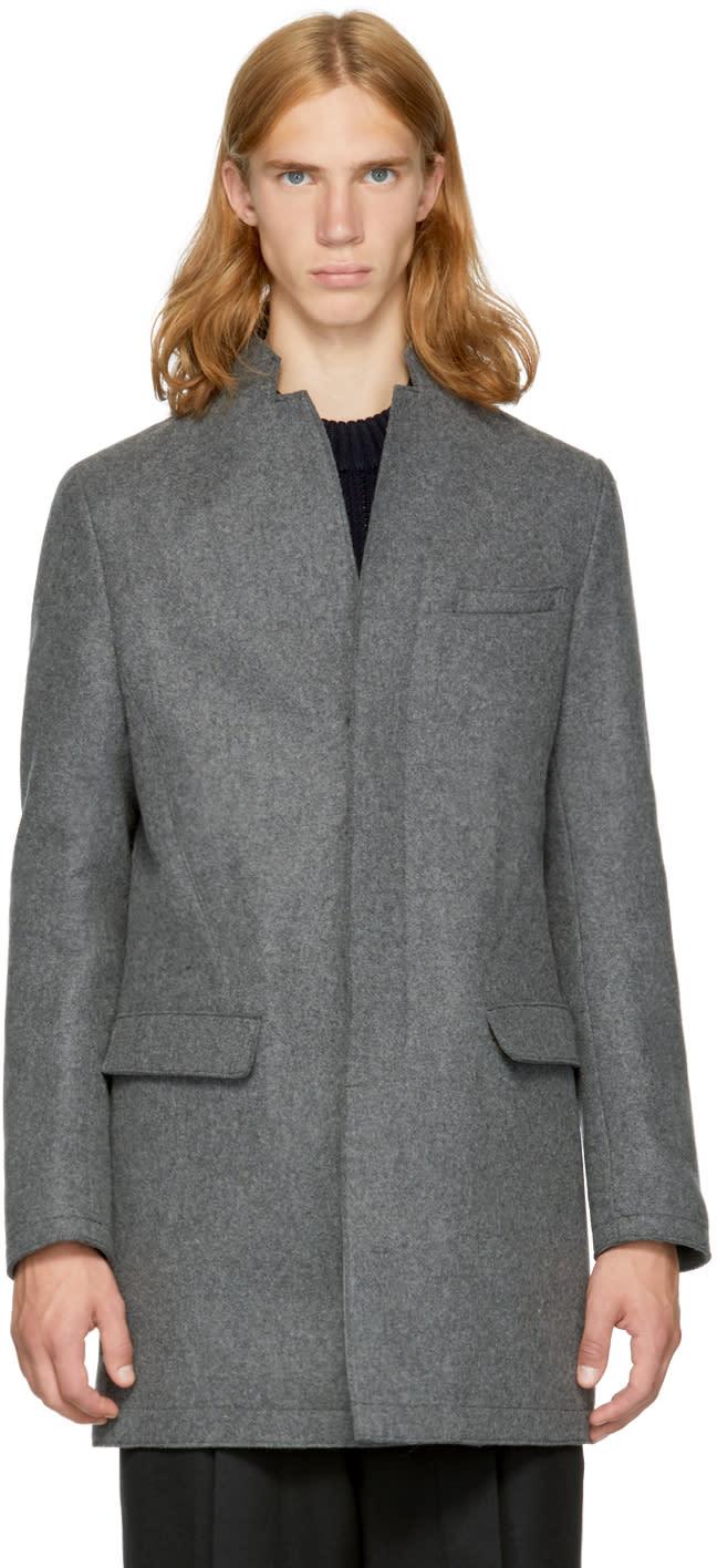 Image of Tomorrowland Grey Wool Coat