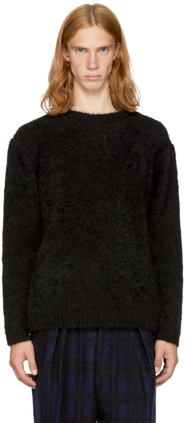 Image of Tomorrowland Black Alpaca Sweater