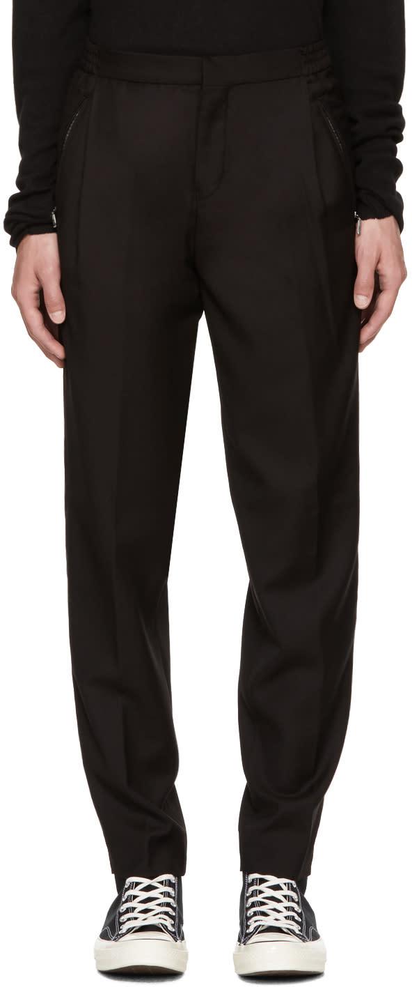 Image of Stephan Schneider Black Unit Trousers