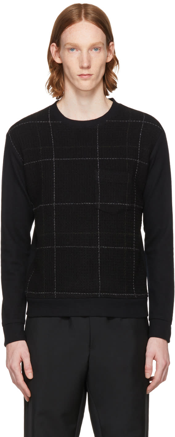 Image of Stephan Schneider Black Accessible Sweater