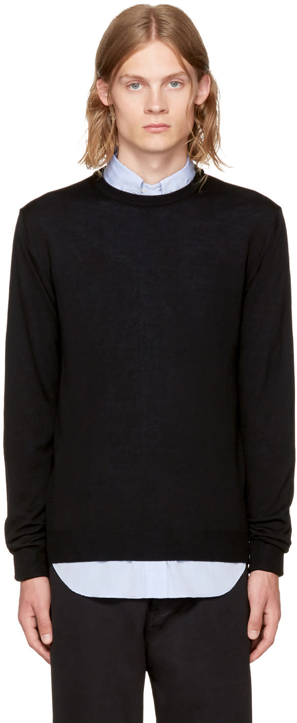 Image of éditions M.r Black Stanislas Sweater