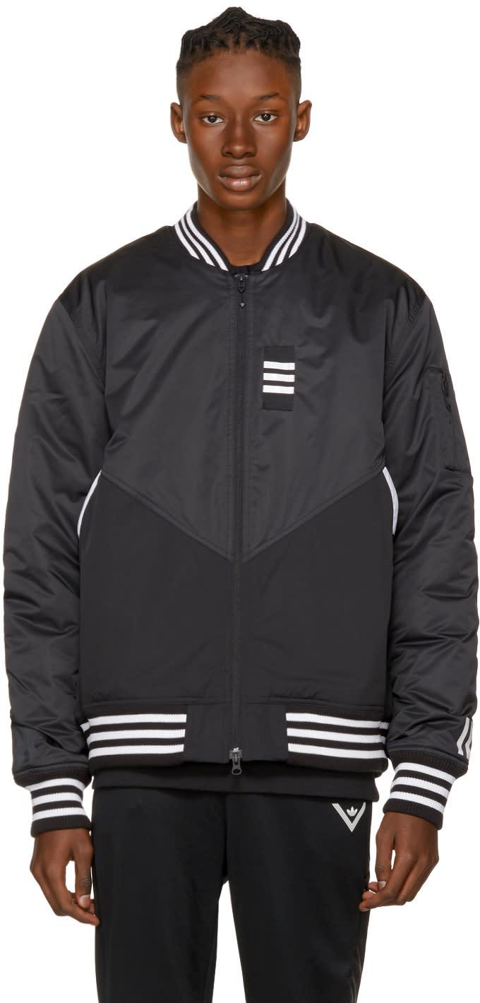Image of Adidas X White Mountaineering Black Flight Jacket