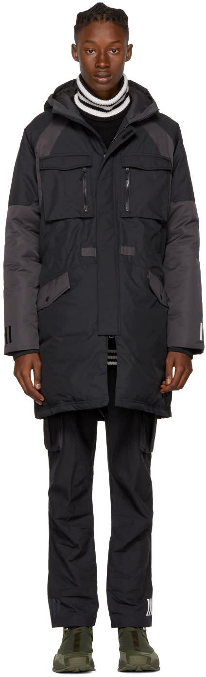 Image of Adidas X White Mountaineering Black Down Jacket