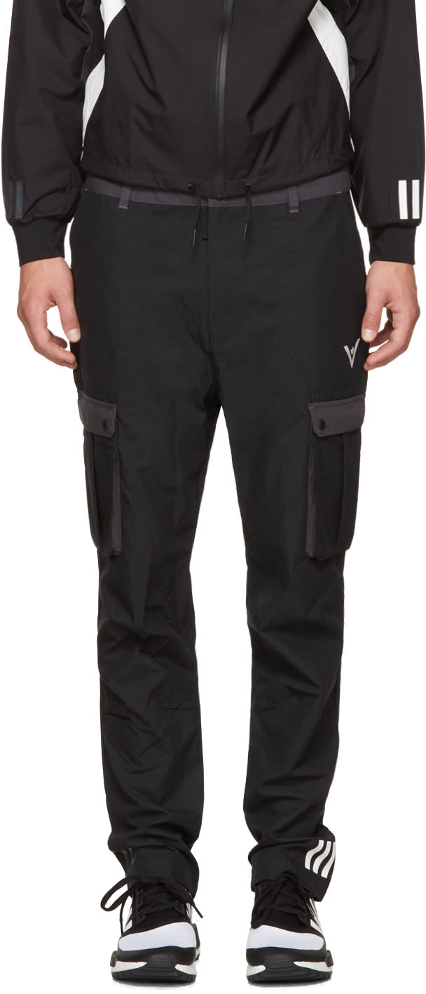 Image of Adidas X White Mountaineering Black 6p Cargo Pants
