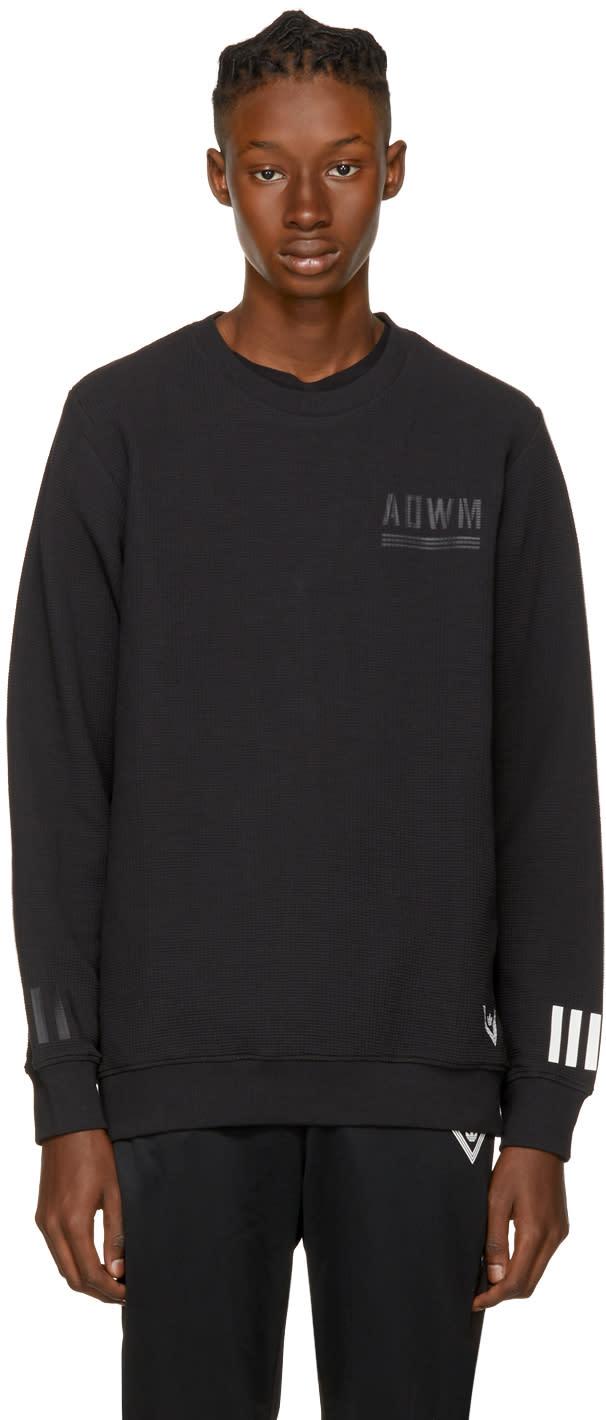 Image of Adidas X White Mountaineering Black Crew Sweatshirt