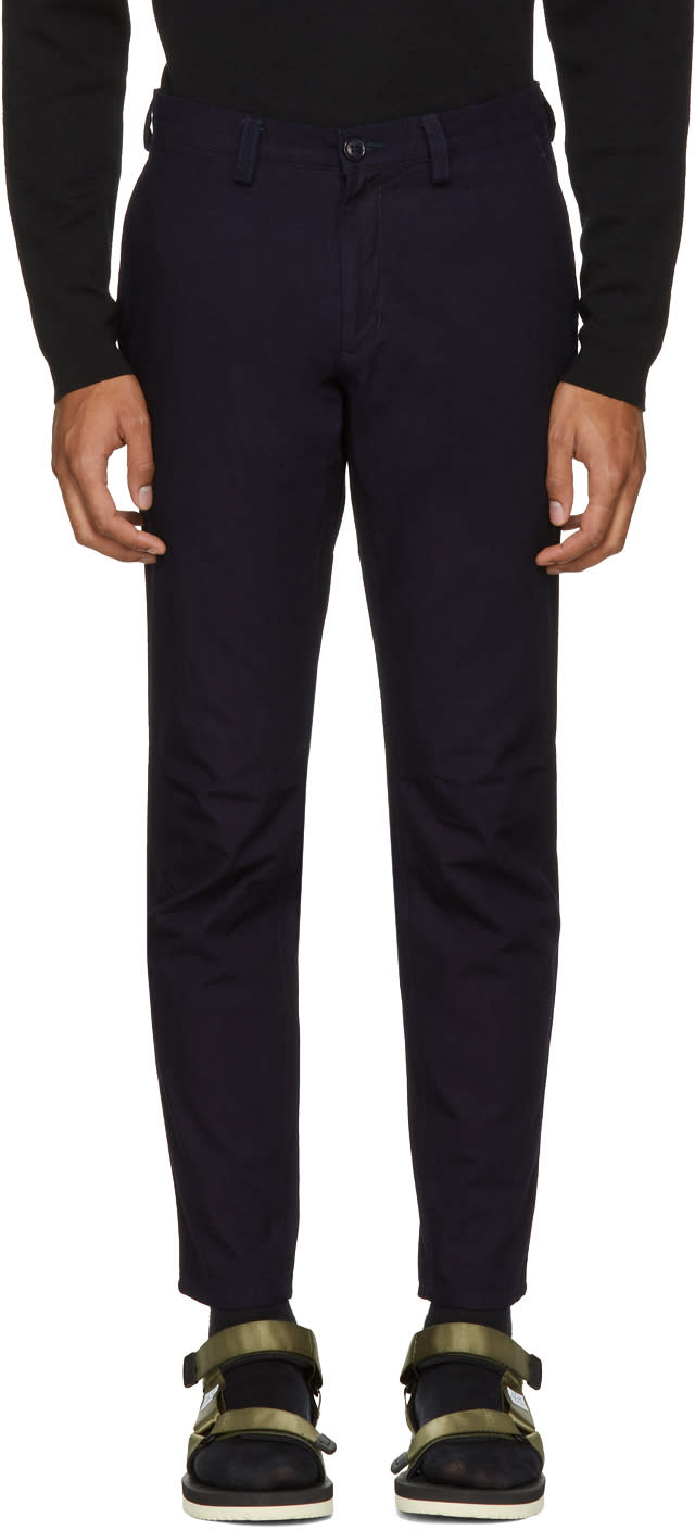 Image of Blue Blue Japan Indigo Farmer Trousers