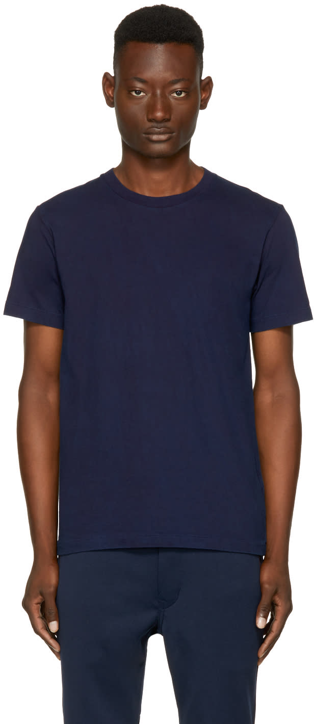 Image of Blue Blue Japan Indigo Crewneck T-shirt