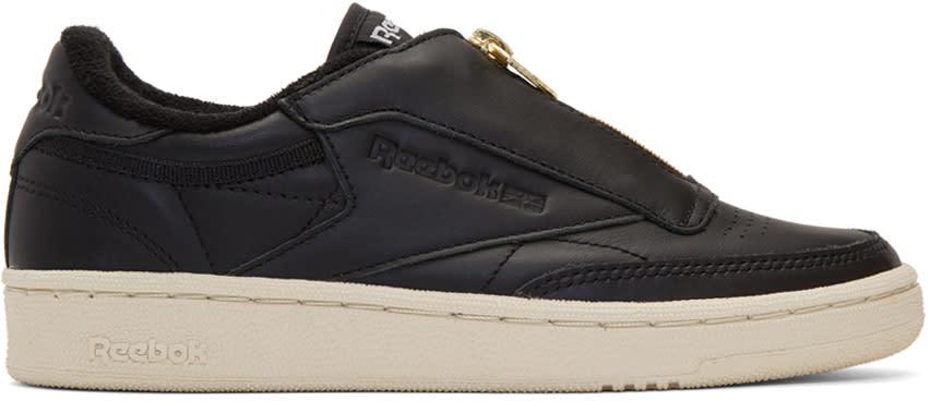 Image of Reebok Classics Black Club C 85 Zip Sneakers