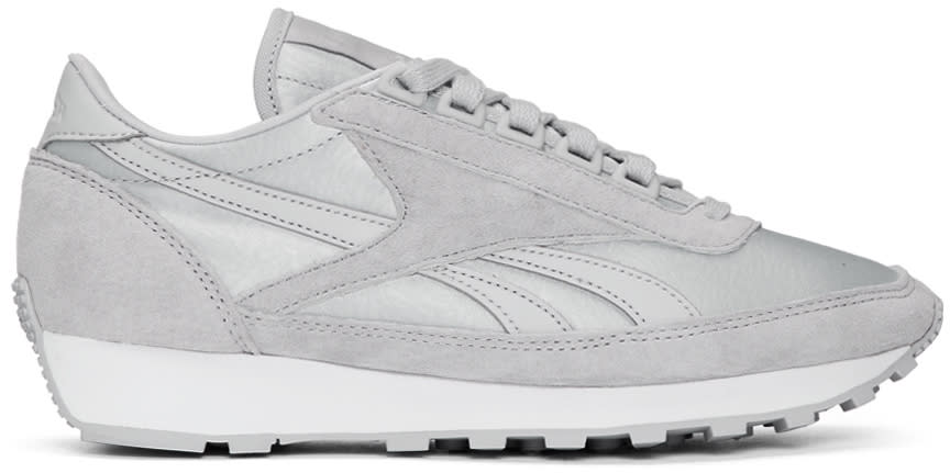 Image of Reebok Classics Grey Face Stockholm Edition Aztec Og Sneakers