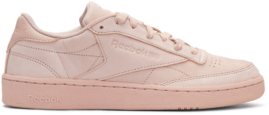 Reebok Classics Pink Club C 85 Rock Solid Sneakers