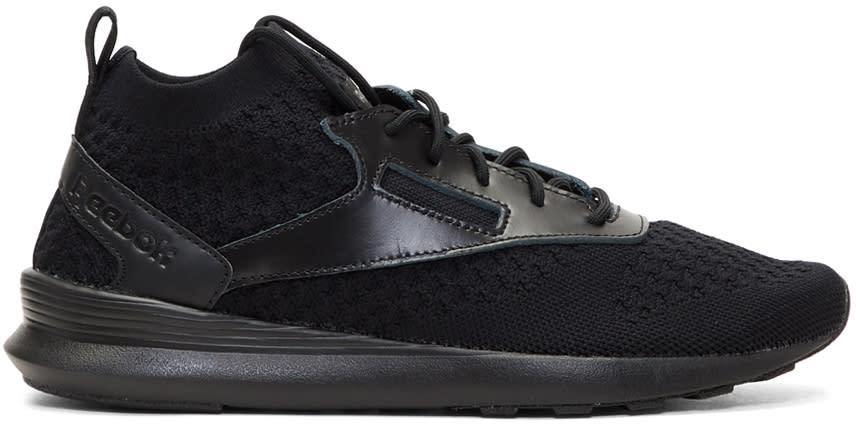 Reebok Classics Black Zoku Runner Ultraknit Lux Sneakers