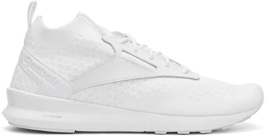 Reebok Classics White Zoku Runner Ultraknit Lux Sneakers