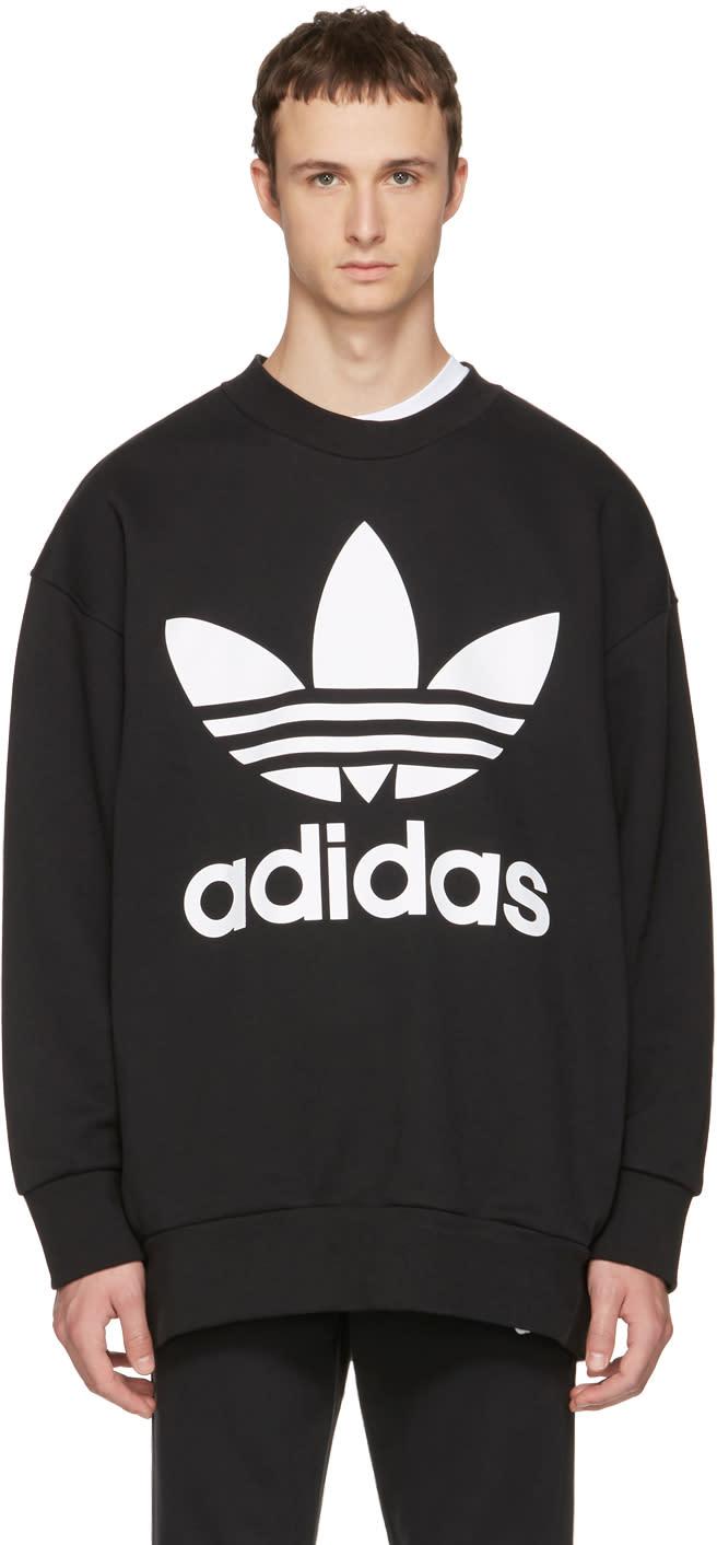 Image of Adidas Originals Black Adicolor Sweatshirt