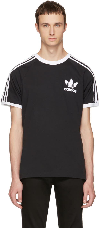 Image of Adidas Originals Black and White California T-shirt