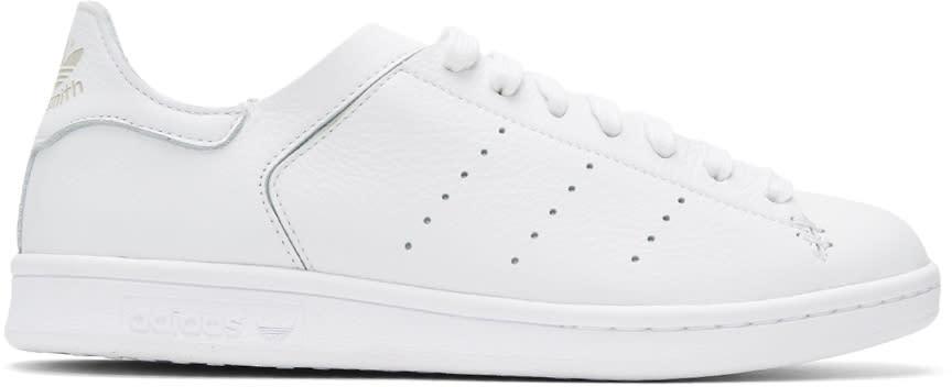 Adidas Originals ホワイト Stan Smith リア ソックス スニーカー