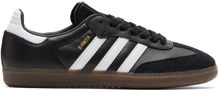 Image of Adidas Originals Black Samba Sneakers