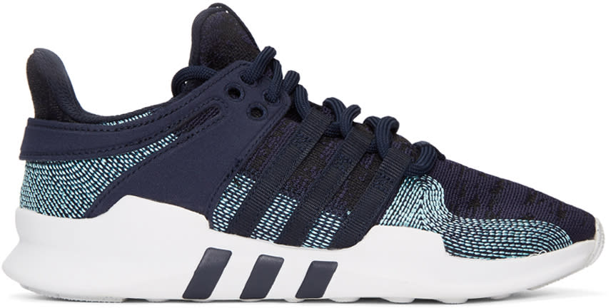 Adidas Originals Navy Eqt Support Adv Ck Parley Sneakers