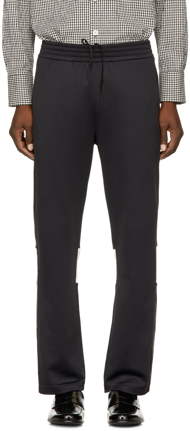 Image of Wales Bonner Black Andre Lounge Pants